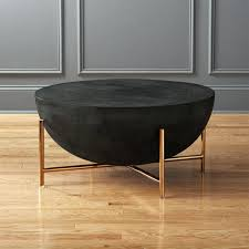 gray round coffee table brass grey ikea