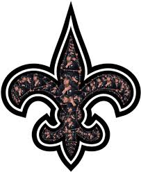 The Saints logo but it's made out of Sean Payton doing what he does ...
