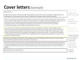 Scientific Journal Template Cover Letter Sample Review Margines Info