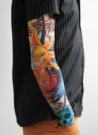 Tetovací Rukáv Slunce 690 Parochne Priceskysk