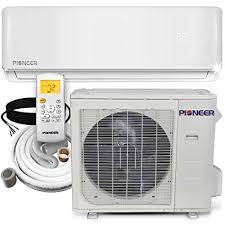 Pioneer Mini Split Pressure Chart Pioneer Air Conditioner Inverter Wall Mount Ductless Mini Split Heat Pump 36000 Btu 208 230 V