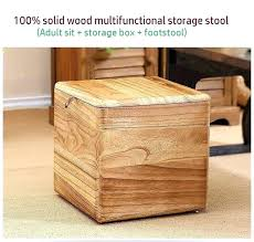 wood storage crates wooden storage crates solid wood storage stool storage box wooden chair case container
