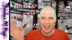 bald cap tutorial brushesofmagic