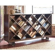 Ashley Furniture Starmore Shelf Console Table in Brown