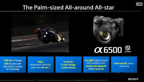 sony a6500 adds 5 axis ilization touchscreen and processing power