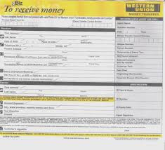 Printable Beconchina Money Sample Practicable Receipt Western Order Receive Doc Union Form – Include Template