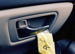car door latch. Beautiful Latch A Note Is Taped Next To Car Door Latch With Arrow Pointing U0026 Word For Car Door Latch E