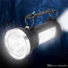 2019 solar led lantern flashlight solar portable outdoor led rechargeable led light searchlight camping hanging lantern emergency lamp light from
