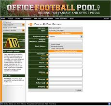 Office Footballpool Company Branded Pools Custom Skins Office Pools Nfl