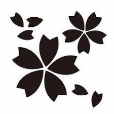 桜の花びらシルエット イラストの無料ダウンロードサイトシルエットac