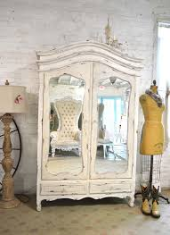 cottage chic furniture.  Furniture French Armoire Painted Cottage Chic Shabby Romantic Armoi Inside Furniture