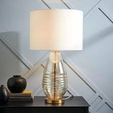 glass based table lamps fillable clear glass base table lamps