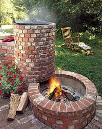 how to build a round brick fire pit outstanding cinder block fire pit design ideas for