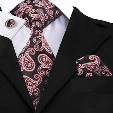 Wholesale Designer Ties Us 6 29 10 Off Sn 1550 Brown Paisley Neck Ties Wholesale High Quality Silk Hankychief Cufflinks Tie Set Hi Tie New Design Men Ties On Sale In Mens
