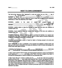 How Do You Make A Lease Agreement Delectable Rent To Own Contract Templatetopwritersratingorg Topwritersratingorg