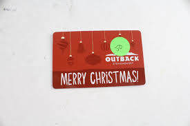 an image relevant to this listing outback gift card