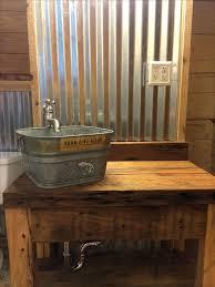 barrel sink bathroom best bucket sink ideas on rustic bathroom sink galvanized bathroom sink wine barrel barrel sink bathroom