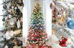 Image result for christmas tree decorating ideas