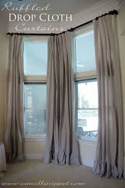Paint Drop Cloth Curtains Best 25 Drop Cloths Ideas On Pinterest Canvas Drop Cloths