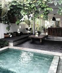 urban backyard ideas modern lap pool outdoor bar ideas elegant van small plunge pool designs