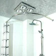 u shower curtain rod u shower curtain rod brilliant stainless steel round u shaped curved shower