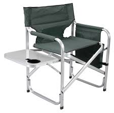 Best Chairs Amazoncom Faulkner Aluminum Director Chair With Folding Tray