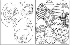 Printable Easter Egg Coloring Pages Printable Treatscom
