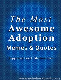Adoption Quotes A few of The Most Awesome Adoption Memes 85
