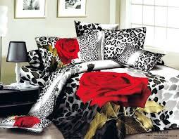 animal print bedding set leopard print bedding sheets