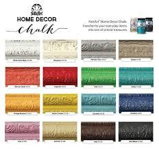 Folk Art Paint Chart Plaid Folk Art Chalk Paint Colors In 2019 Paint Color