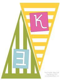 printable banner and bake flyer bake flyers bake banner letters k e