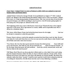 Animal Farm Essay Essay On Animal Farm And The Russian Revolution Animal Farm The