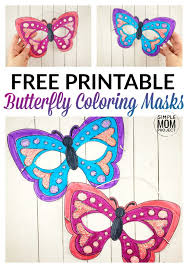 10 printable safari animal masks for kids | a super cute collection of animal face masks for kids to colour in and assemble. Printable Animal Masks For Kids Simple Mom Project