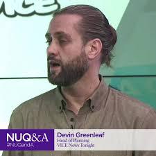 Devin Greenleaf of VICE... - Northwestern University in Qatar
