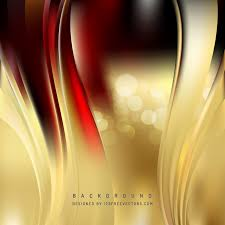 dark red gold wave design background