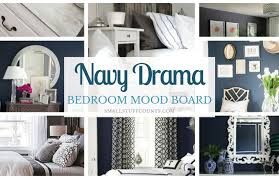 Navy Bedroom 9 Striking Navy Blue Paint Colors For Your Room Makeover