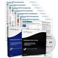 Microsoft Office Training Certificate Learn Microsoft Office 2016 Deluxe Cpe Training Tutorial Package Video Lessons Pdf Instruction Manuals Printed And Laminated Quick Reference Guide