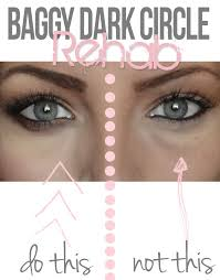 tip from a makeup artist how to cover up dark circles under your eyes and