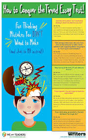 poster how to conquer the timed essay test weareteachers how to conquer the timed essay test classroom poster
