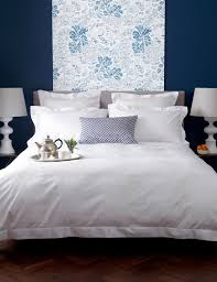 luxury 600 thread count plain white duvet cover