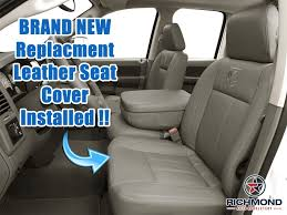 2006 dodge ram 2500 3500 laramie driver side bottom leather seat throughout wonderful replacement seats