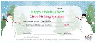 Holiday Gift Certificate Holiday Gift Certificate