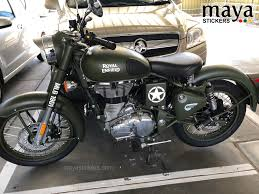 royal enfield clic 350 sticker