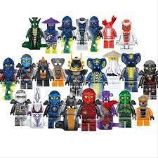 24 Minifiguren Ninjago Schlangen Acidicus,NEU in 40597 Düsseldorf für 36,00  € zum Verkauf