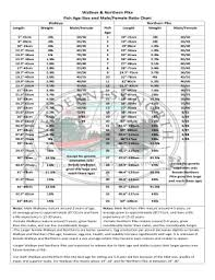 Northern Pike Age Chart Fillable Online Walleye Northern Pike Fax Email Print