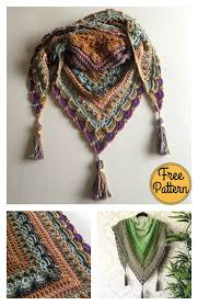 Free Shawl Crochet Patterns Cool Lost In Time Triangle Shawl Free Crochet Pattern