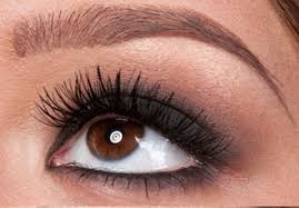 simple makeup for brown eyes photo 3