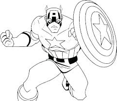 Coloring Superhero Coloring Pages Superhero Superheroes Coloring