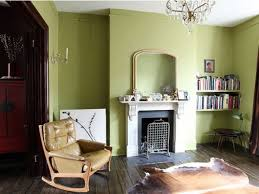 Interior Design: Fresh Green Living Room Interior And Decorating ...