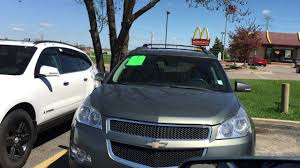 2009 CHEVROLET Traverse LT, AWD, Leather, light green !!! - YouTube